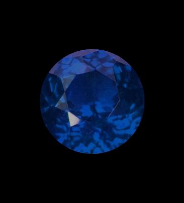 dark blue gemstone