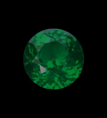dark green gemstone