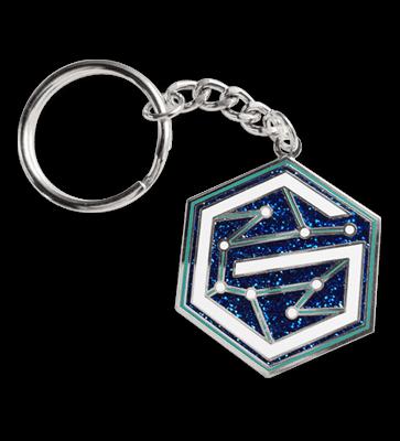 keychain pin attachment