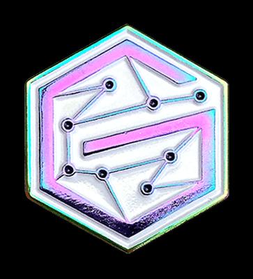 rainbow metal pins