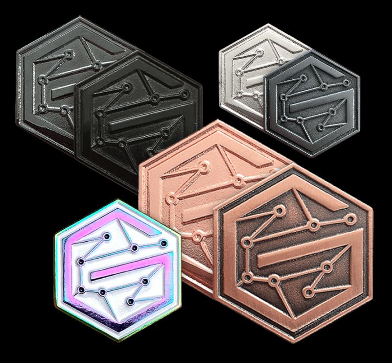 military custom challenge coins