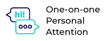 one-on-one personal attention