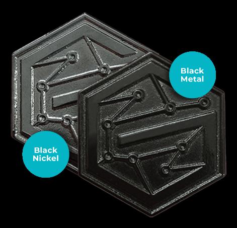 pin black metals