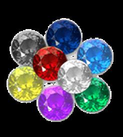 pin gemstones add ons