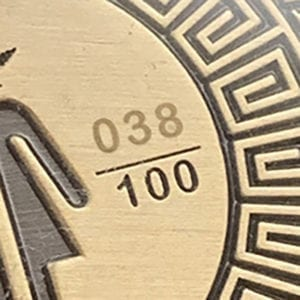 coin add on sequential numbering