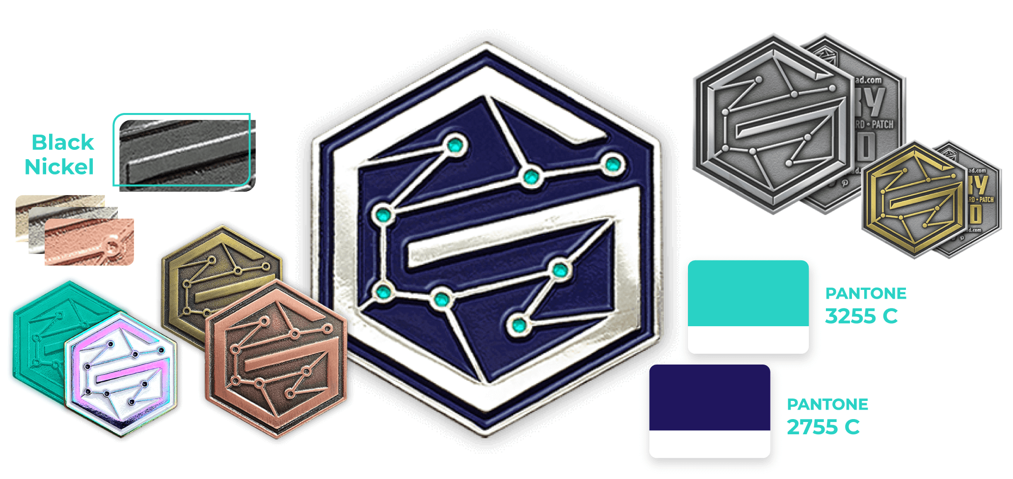 ems industry coin designs