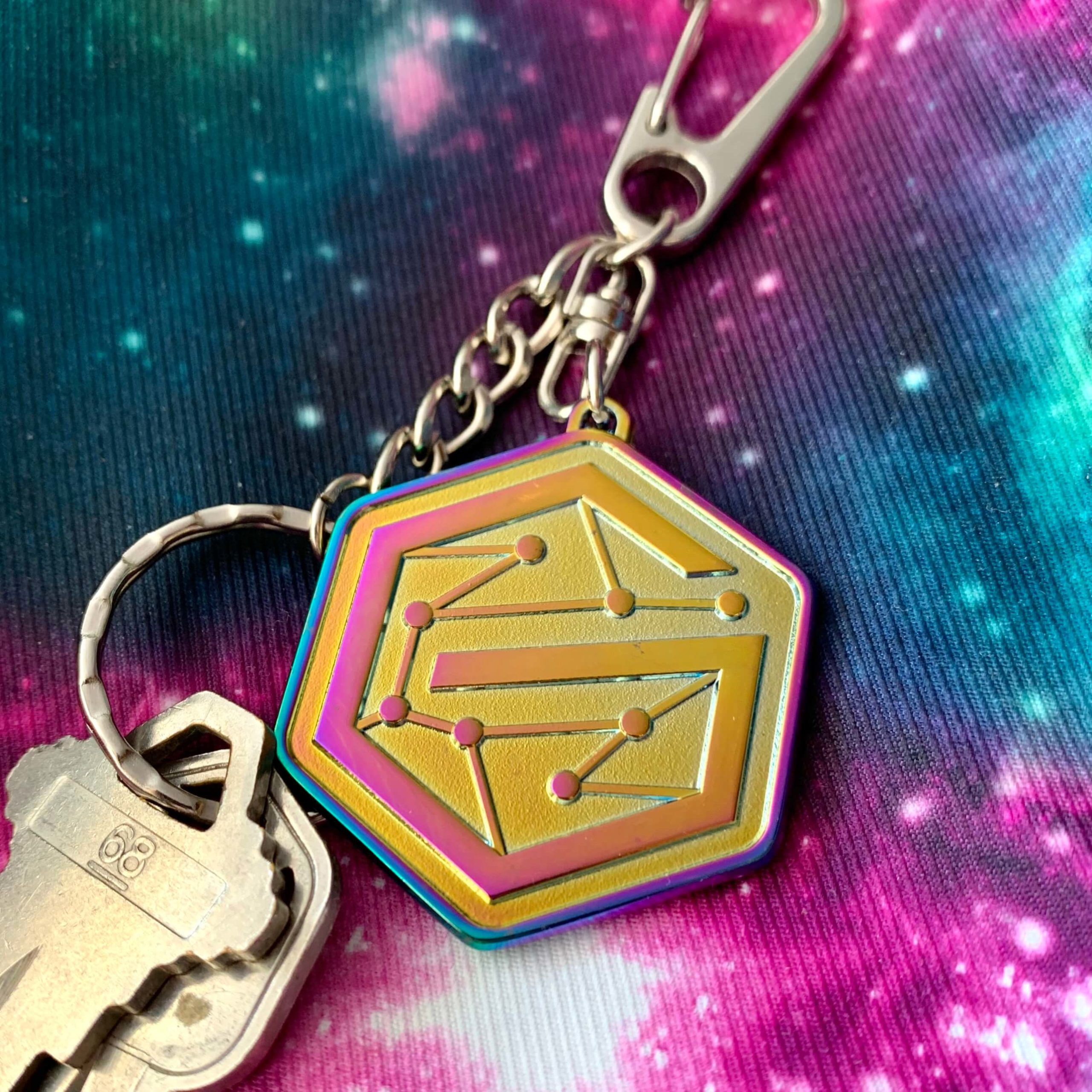 Galaxy keychain v2