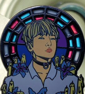 stained glass add on for pins