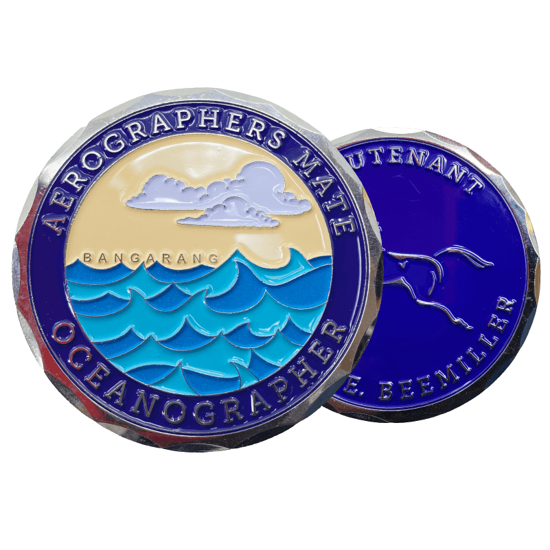 two sided colored coins
