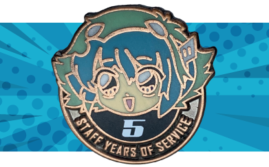 years of service pin designs
