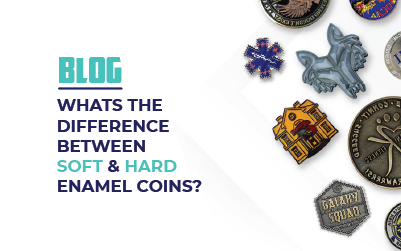 What's the Difference Between Soft and Hard Enamel Coins?