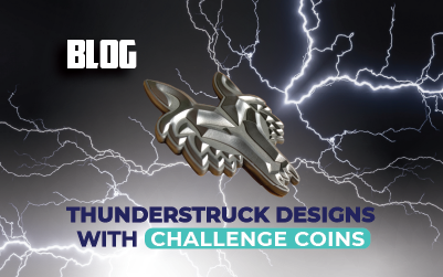 Thunderstruck Designs with Challenge Coins!